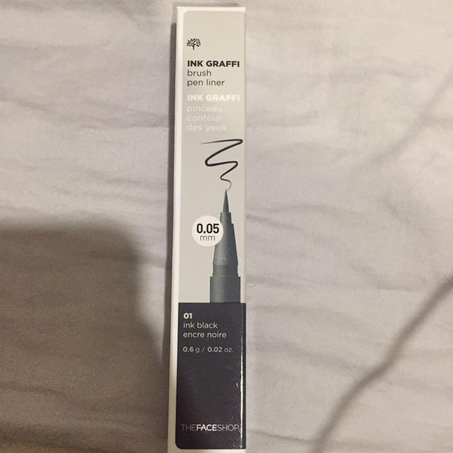 Faceshop brush pen liner no 1( ink black)