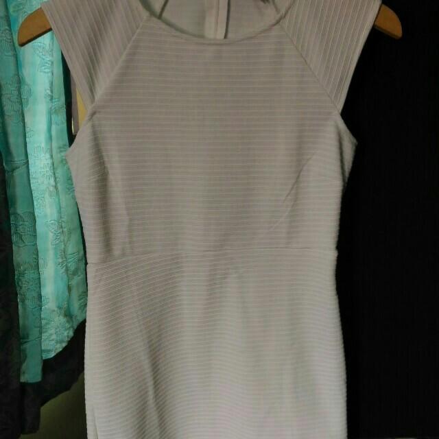 Forever21 White Bandage Dress