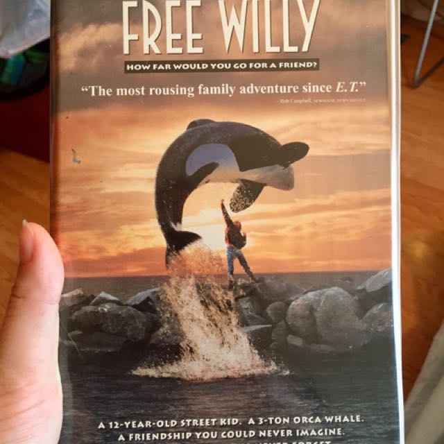 Free willy vhs