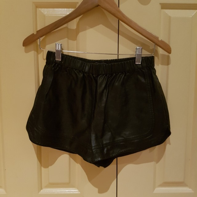 Glassons pleather shorts