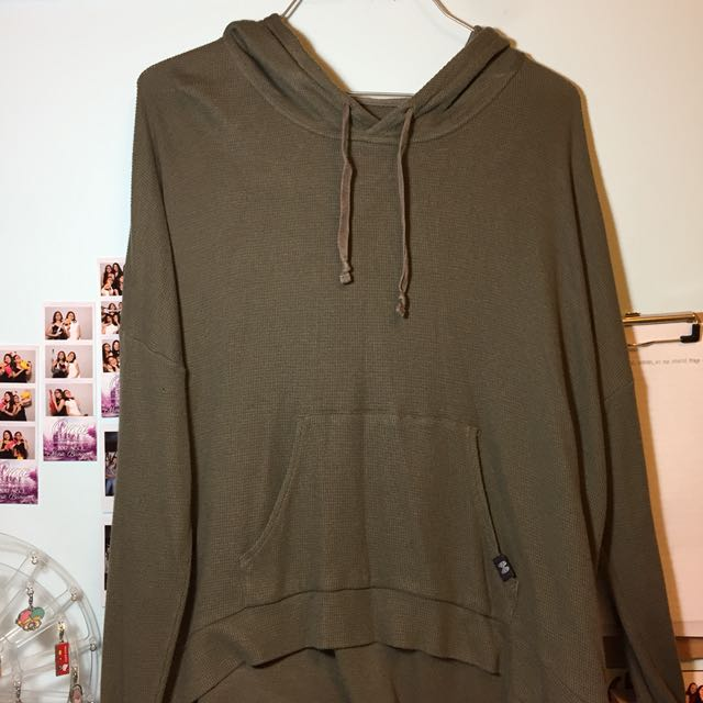 green and olive victoria secret pullover
