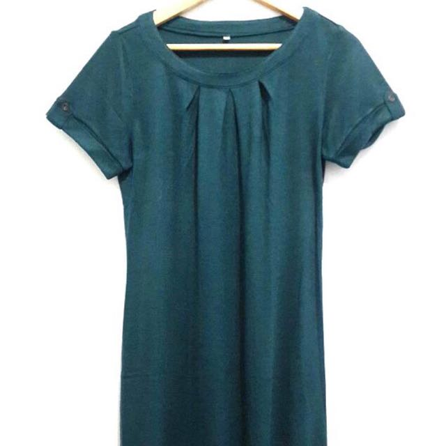 Green Dress / Long top