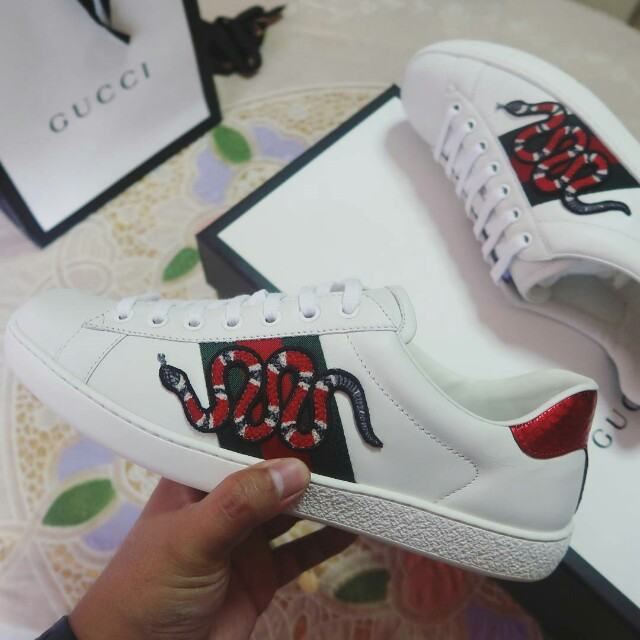 c4b2b5ff4b56 Gucci Ace Embroidered Sneaker