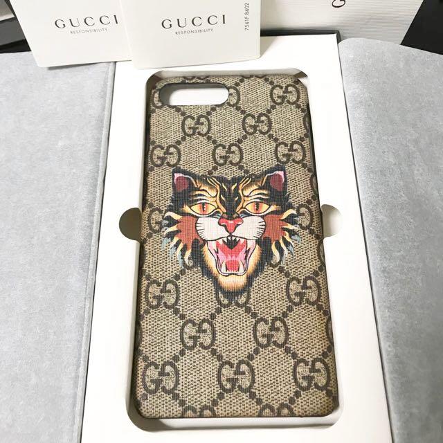 quality design 45c17 64fc6 Gucci iphone 8 Plus 7 Plus case