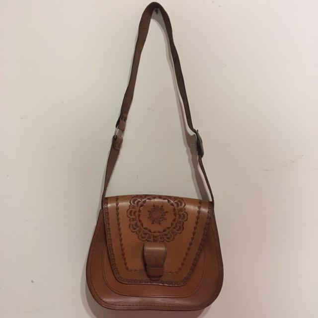 Handcrafted handbag - unique