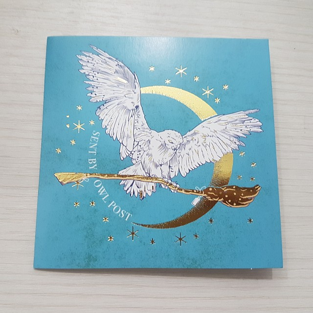 harry potter christmas cards design craft craft supplies tools on carousell