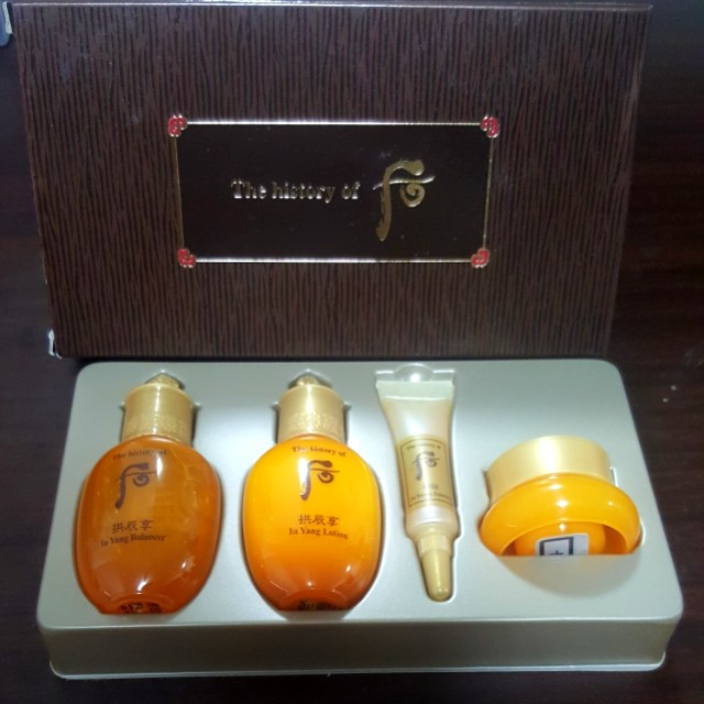 history of whoo gift set