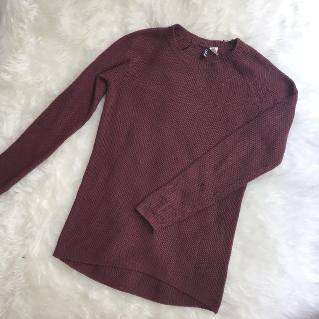 H&M long sweater