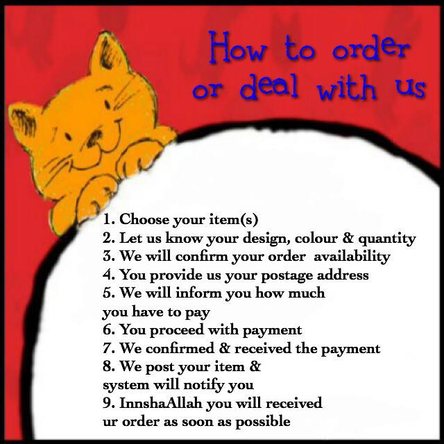 How to order with KedaiKucingAnda