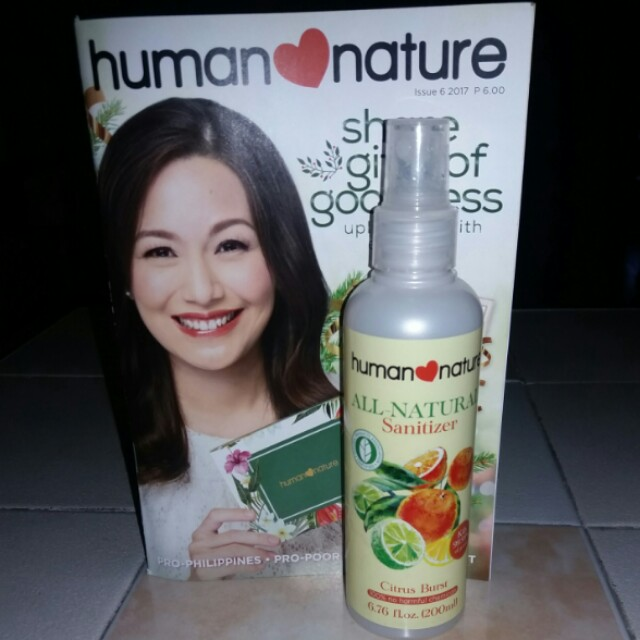 Human Nature All Natural Sanitizer (200 ml)