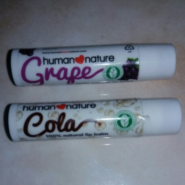 Human Nature Flavored Lip Balm