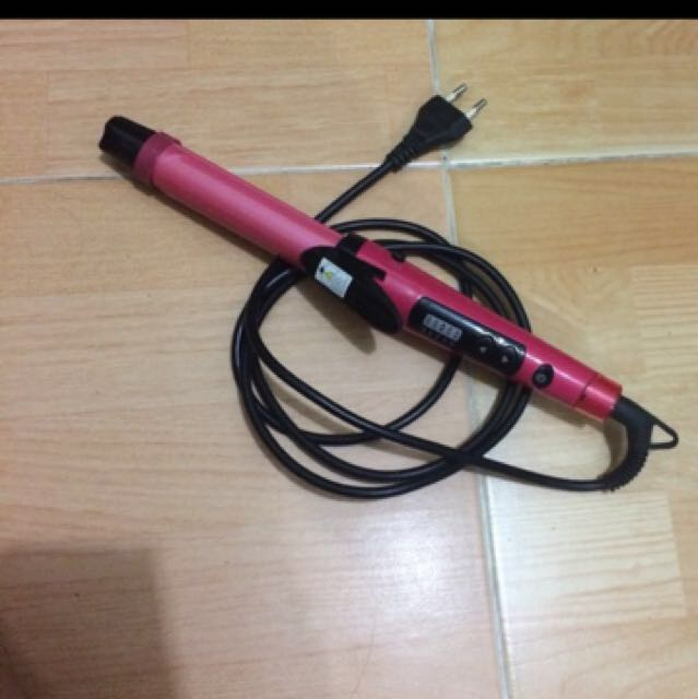 Inova 2in1 hair curling straightener