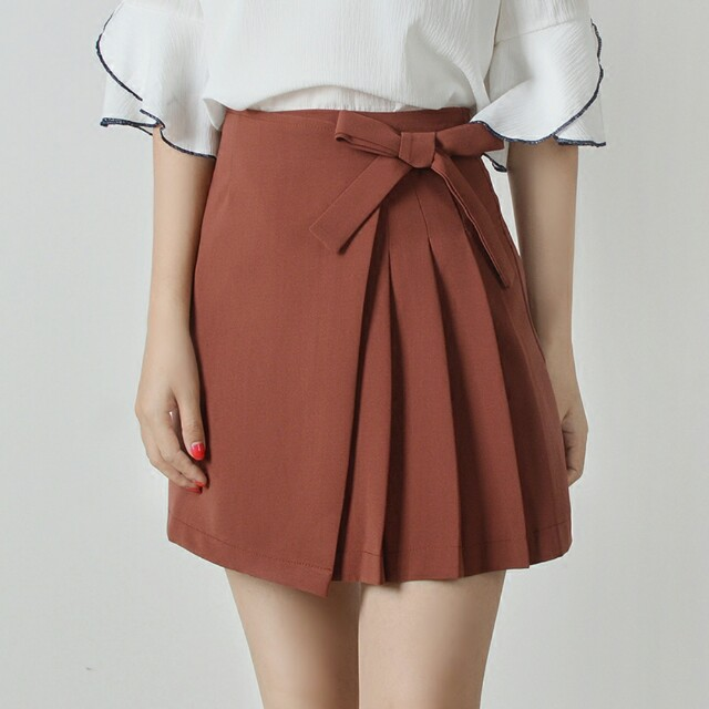 c4bd0d37e0 INSTOCK] Brick Red Skirt, Women's Fashion, Clothes, Dresses & Skirts ...