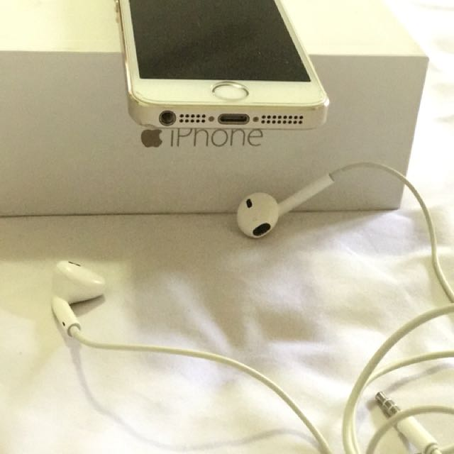Iphone 5S gold 16 Gb wifi only ex jepang
