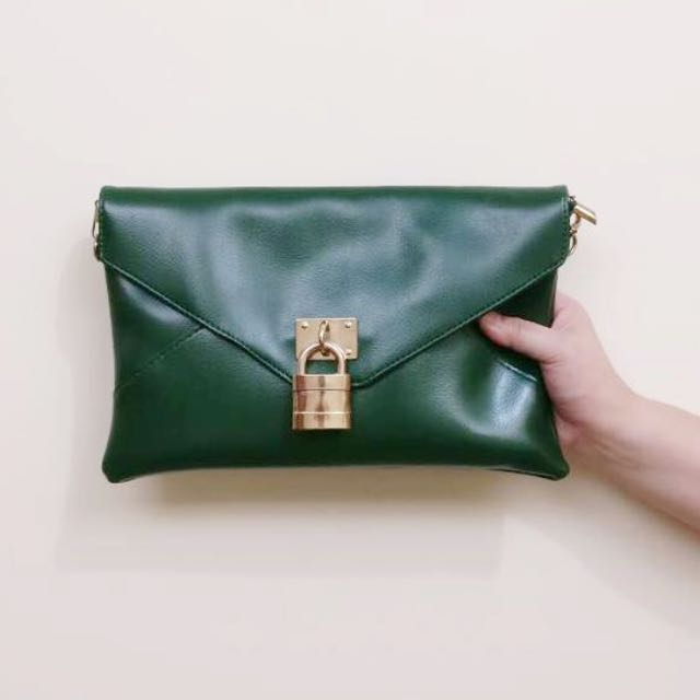 Japan Leather Clutch