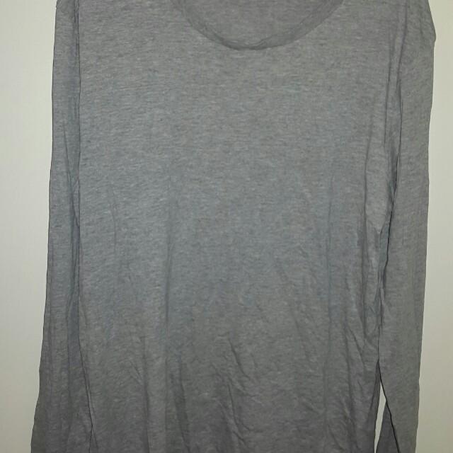 Jay jays grey long sleved shirt