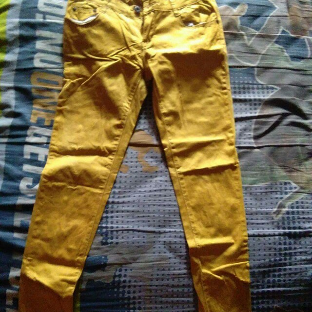 jeans (yellow)