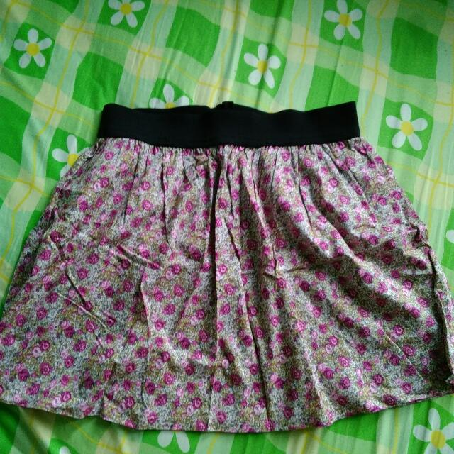 Just G Floral Skirt