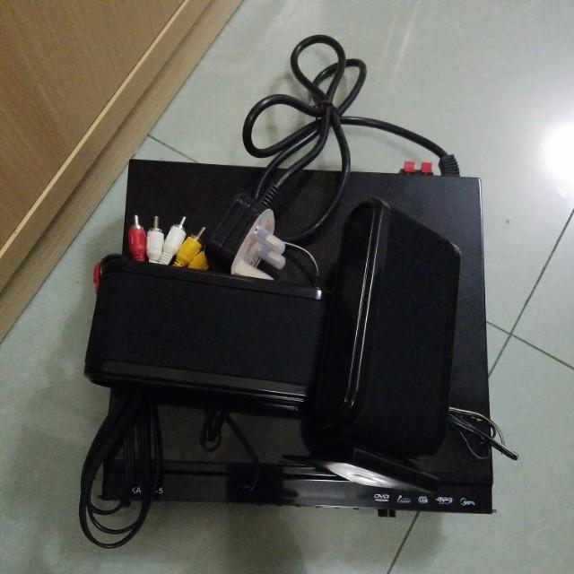 KA767-5 DVD機 支援USB接口 連喇叭