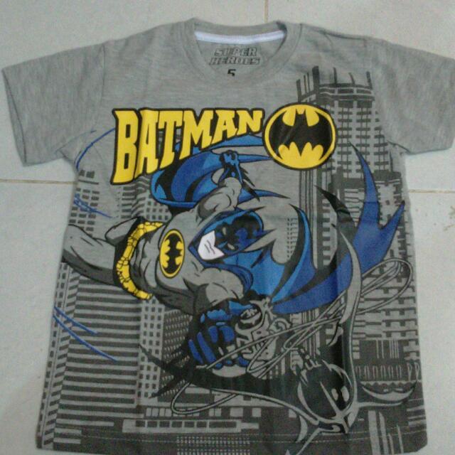 Kaos Anak Super Heroes