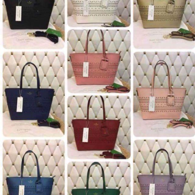 Kate Spade bag plus free Authentic Mk watch
