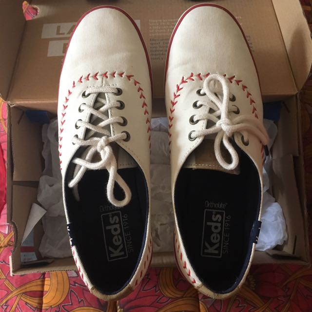 a7fce04eded Keds Champion Pennant Off white