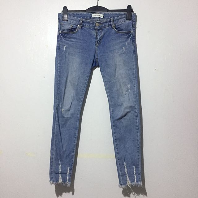 Kendall inspired Frayed Pants
