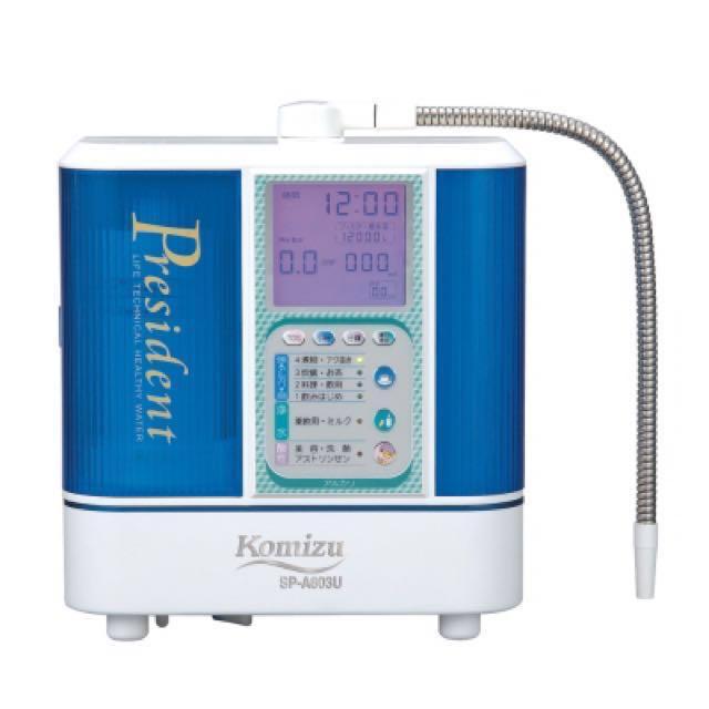 🇯🇵日本KOMIZU SA803U電解水機