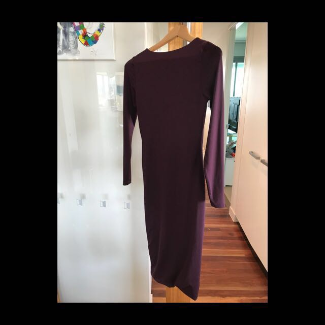 Kookai Size 1 Maroon Dress