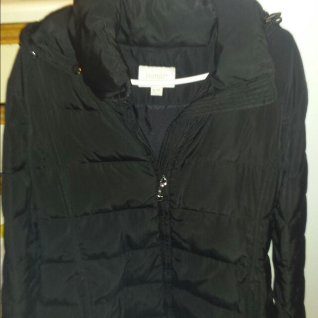 Ladies Black Winter Coat Size XL
