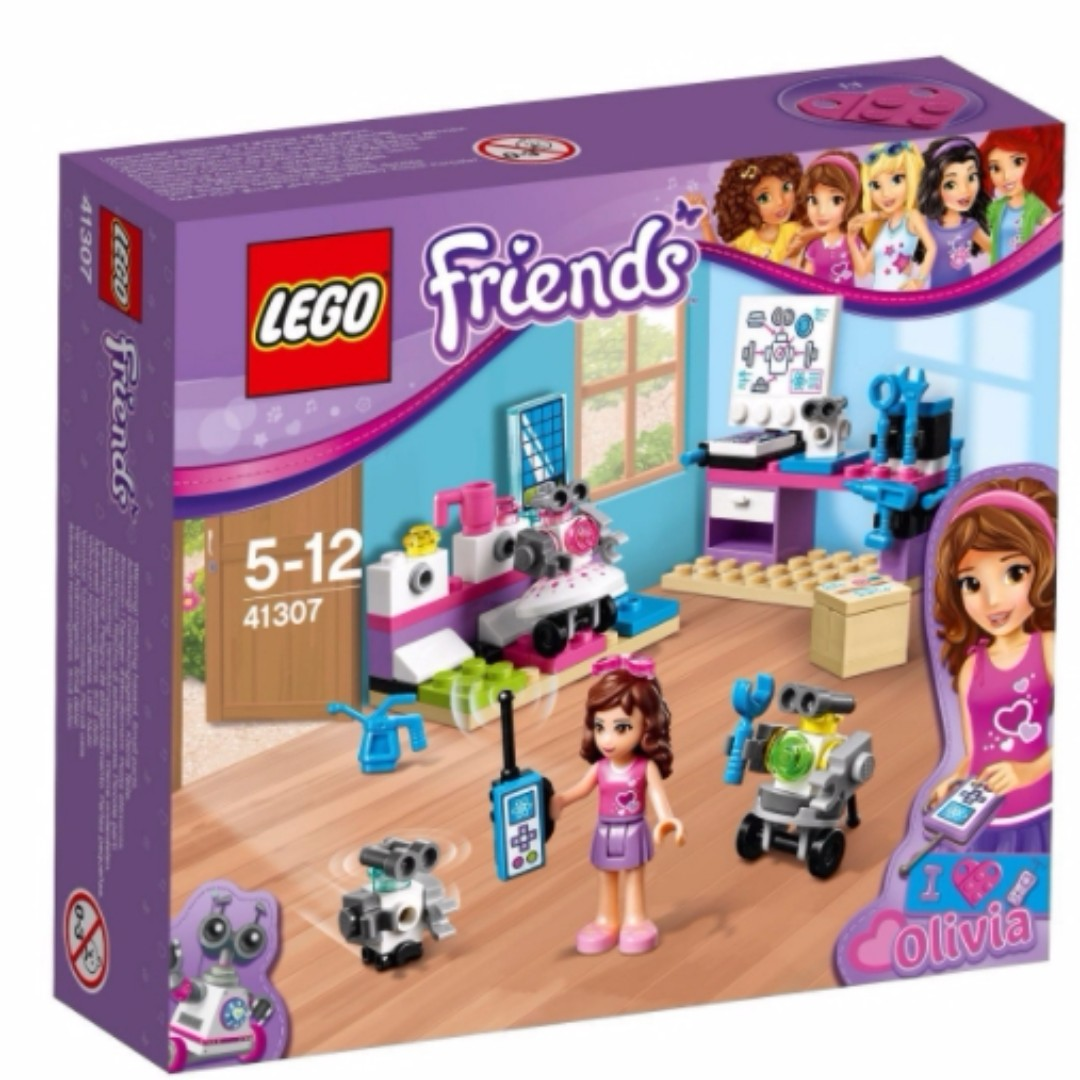 LEGO 41307 奧麗薇亞的創意實驗室