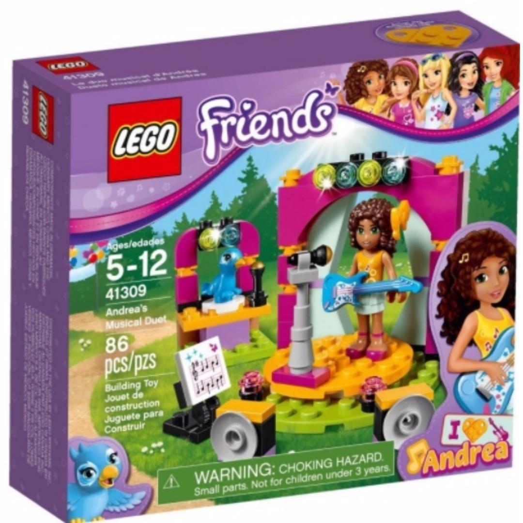 LEGO 41309 安德里亞的二重奏 好朋友