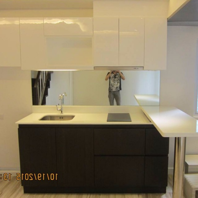 LF: Creates Kitchen Cabinet as shown in the picture