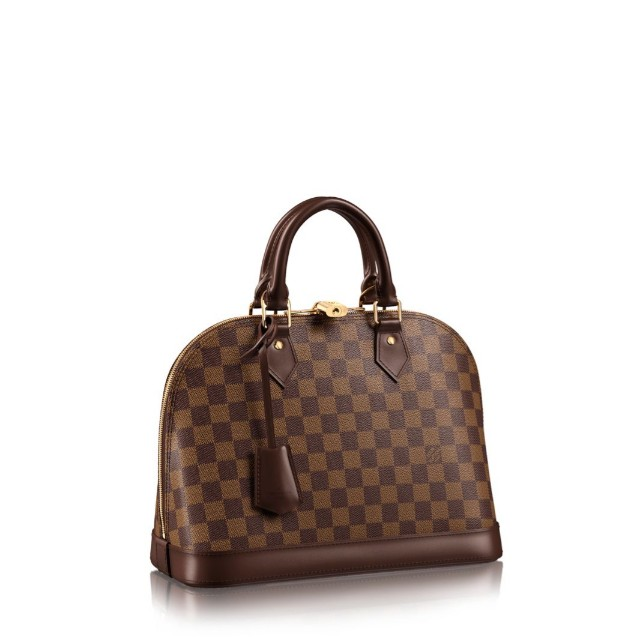 ccd7b72c9c0a Louis Vuitton ALMA PM Damier Ebene Canvas