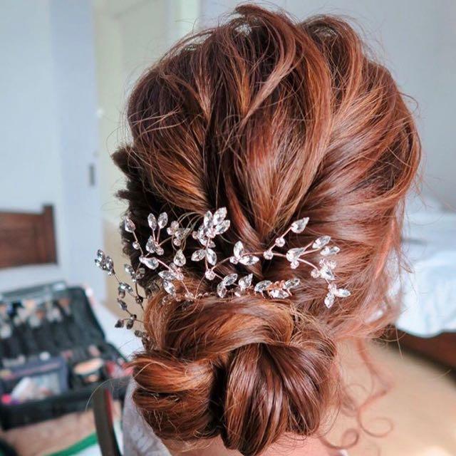 Lovisa Rose Gold Wedding Hair Accessories