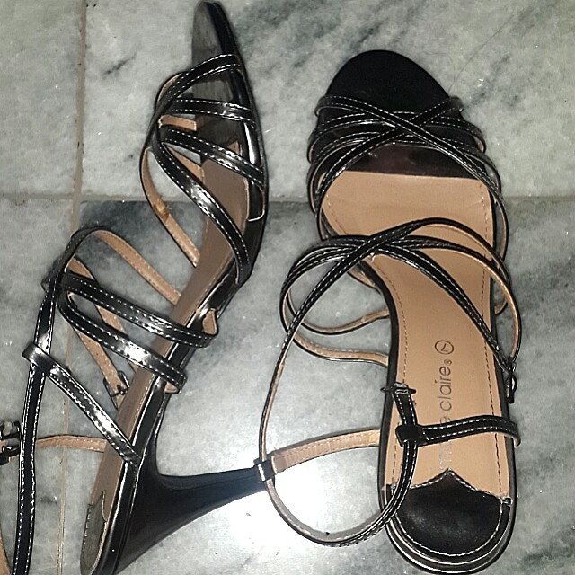 Marie claire strap heels