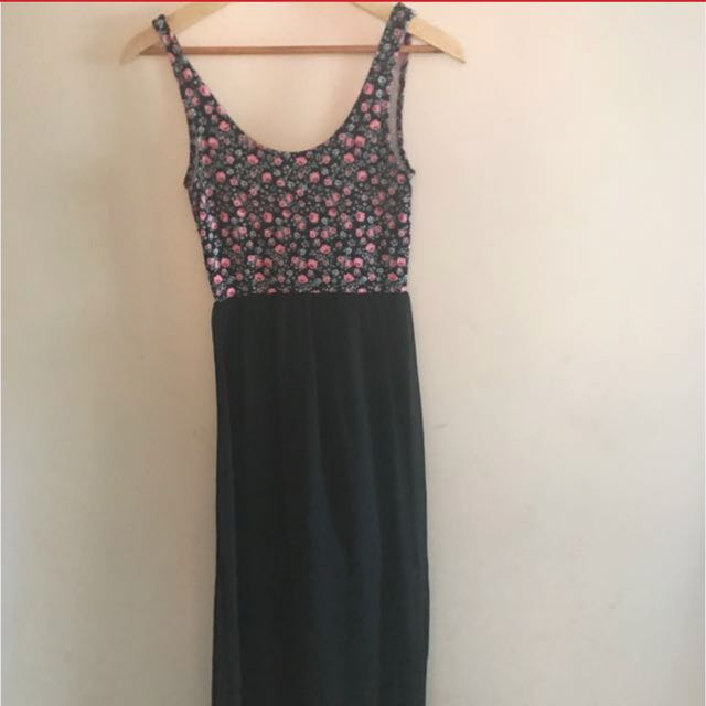 Maxi split sides dress