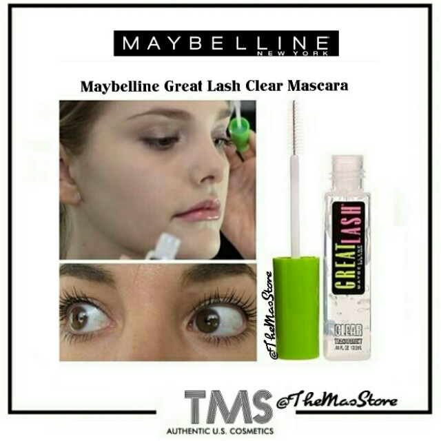 b3a47eda864 Maybelline Great Lash Clear Mascara For Lash and Brow 110, Health & Beauty  on Carousell