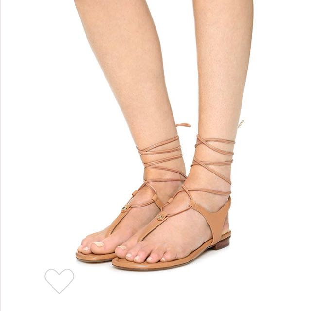 064d56f3392b Michael Kors Sofia lace up sandals