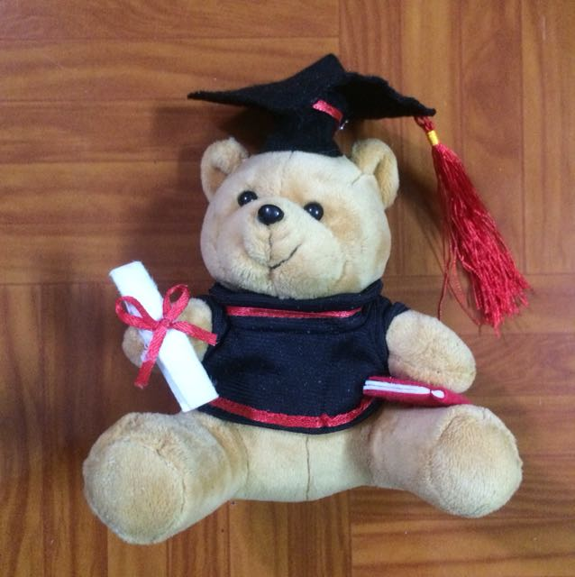 Mini graduation bear plushie #MidNovember50