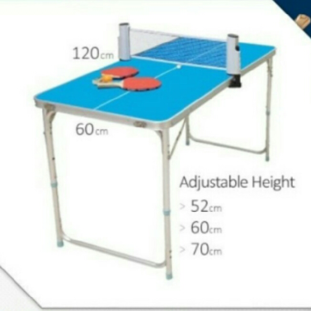 Mini Ping Pong Table + Ping Pong Set, Sports, Other on Carousell