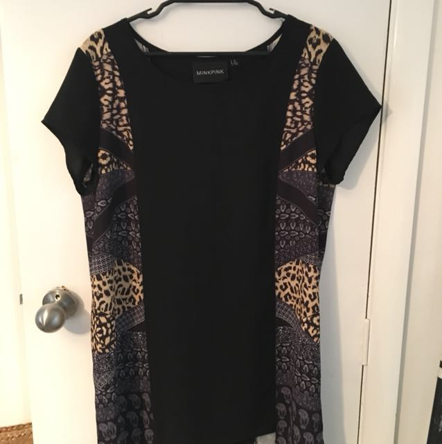 Mink Pink shirt dress. Size large