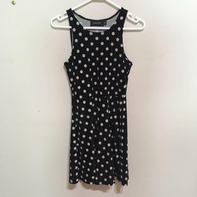 MINK PINK XS polka dot dress