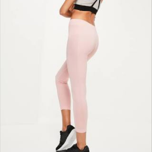 Missguided pink tights