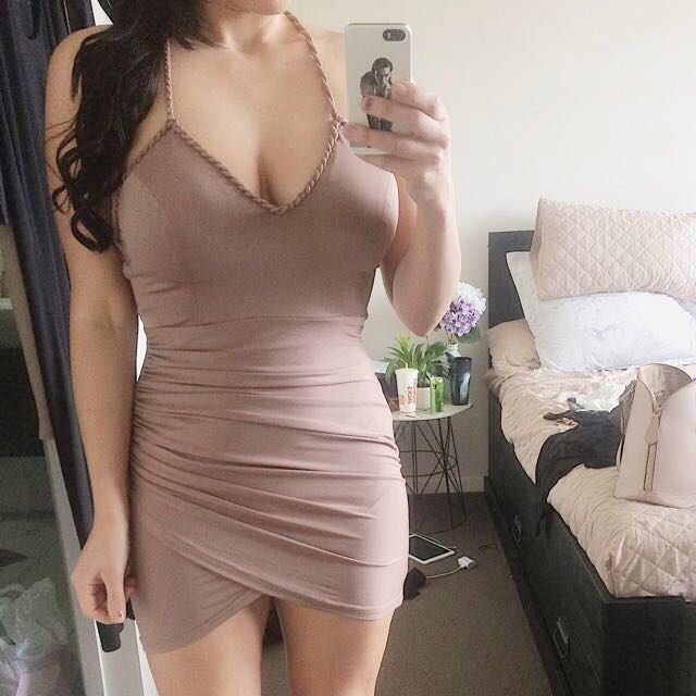 Mocha Tight dress