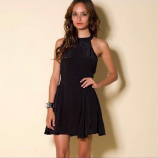 Motel Rocks Melinda Black Dress