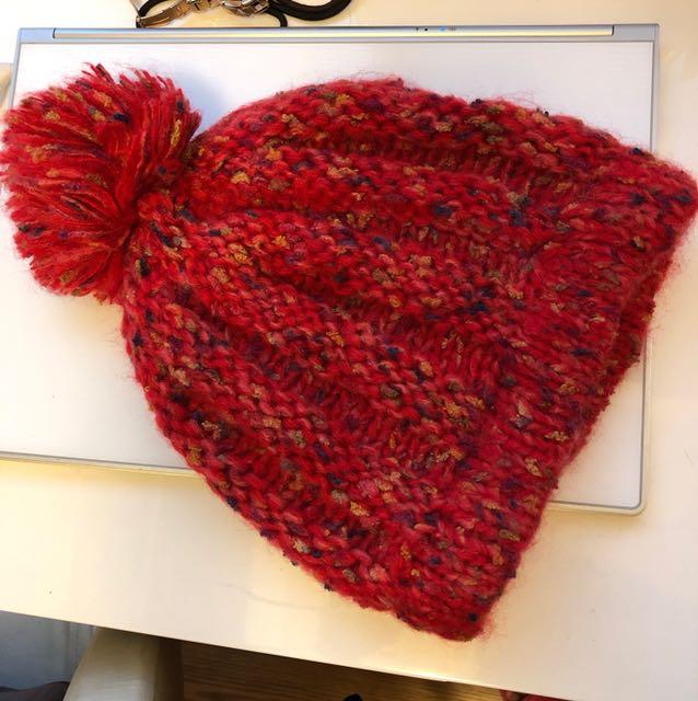 ✨全新✨NET紅色毛帽