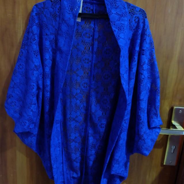 NEW Cardigan Blue Lace