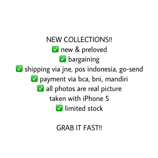 NEW COLLECTIONS ARE COMING!!