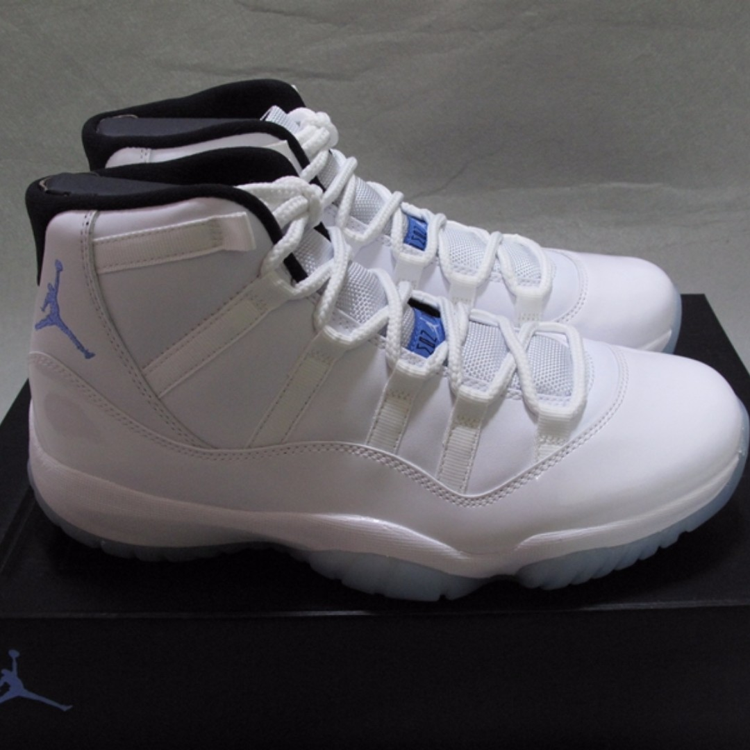 730e1f448ce9e9 Nike Air Jordan retro 11 XI Legend Blue Columbia AJ 11代Men 男裝us7 ...